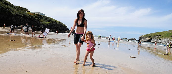 Porth Beach NEwquay