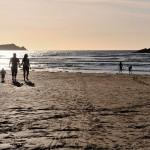 cornwall beach sunset 150x150
