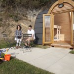 Our glamping pods