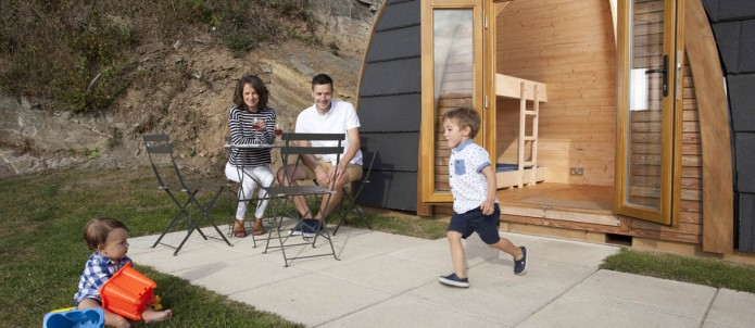 Glamping Pods - Newquay, Cornwall