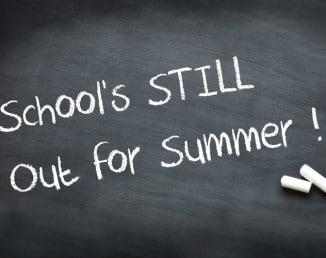 School's still out for summer