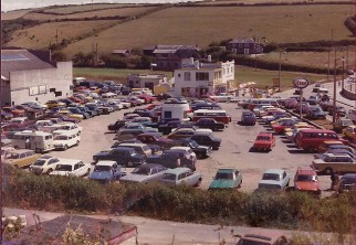Pictured in '76 - where our park entrance is now