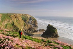 Bedruthan Steps by Paul Watts