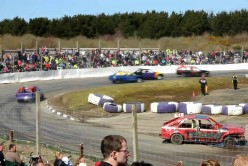 banger racing at st day