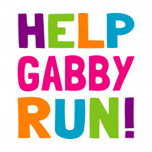 help gabby run logo