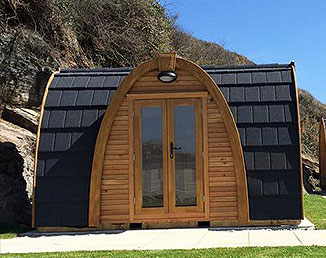 Glamping Pod Holidays in Newquay