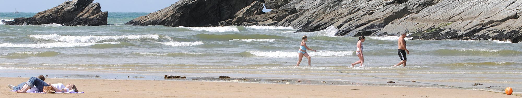 Porth beach, newquay , cornwall