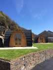 glamping pods in Newquay