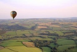 hot air balloon rides cornwall