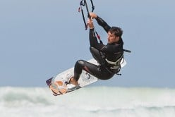 kite surfing watergate bay